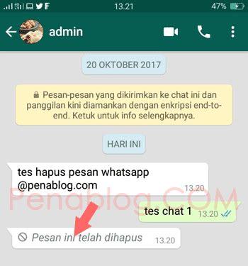 tutorial mendaftar whatsapp cara menghapus pesan whatsapp yang sudah terkirim