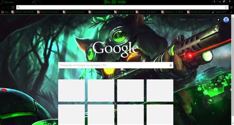 themes google chrome league of legends league of legends spec ops teemo requested theme chrome