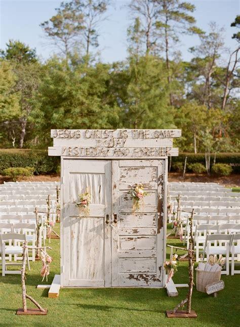 Wedding Ceremony Doors by