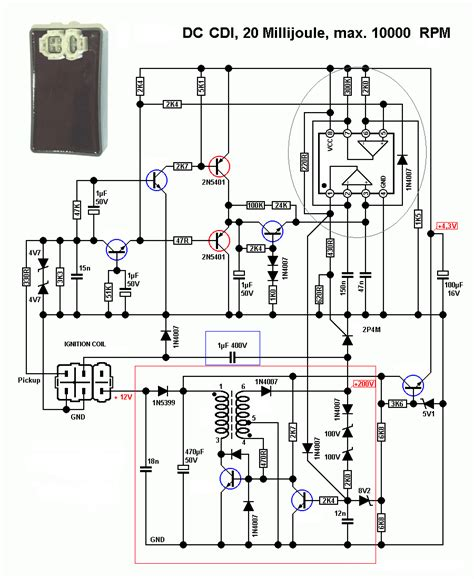 dc cdi schematic updated techy  day blogger  noon   hobbyist  night