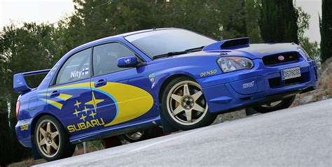 is a subaru a car 2003 subaru impreza wrx sti rally car