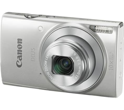 Canon Digital Ixus190 Black buy canon ixus 190 compact silver free delivery