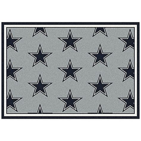 nfl dallas cowboys repeating area rug bed bath beyond