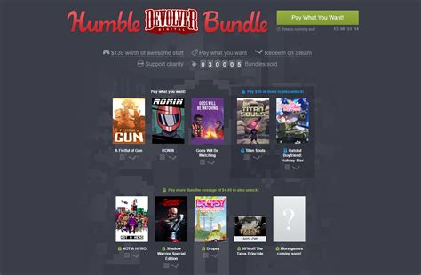 Humble Bundle New Humble Bundle Is Up Steam Unpowered