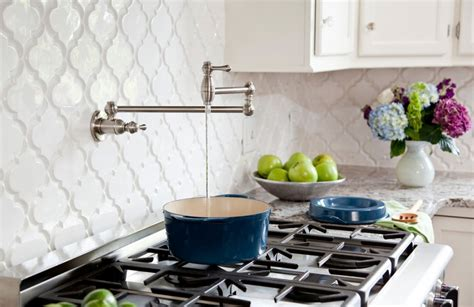 white kitchen tile backsplash moroccan tile backsplash