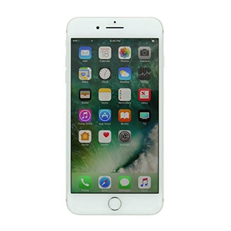 apple iphone 7 plus gsm unlocked 32gb silver certified refurbished