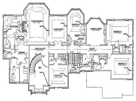 custom built home floor plans custom house plans numberedtype