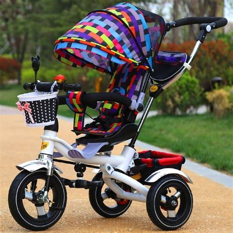 Sepeda Stroller Tricycle Import wholesale price china factory children tricycle stroller import toys from china children bike