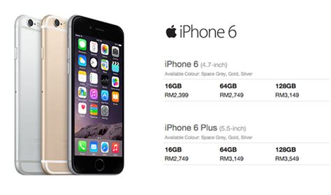 Harga Iphone 6 Plus iphone iphone 6 plus price in malaysia