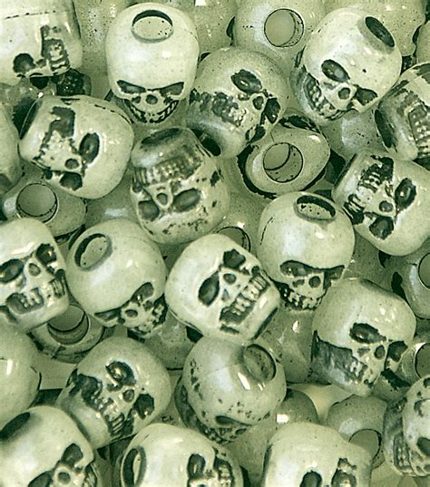 bead stores in ct skull glow in the 250 ct at joann