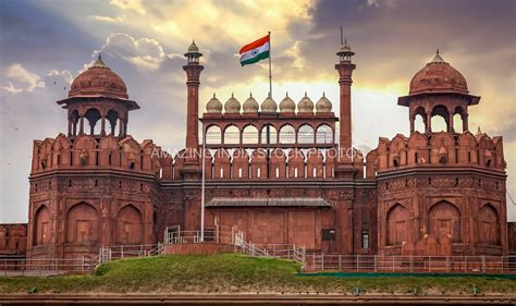 Timeless Architecture red fort delhi royalty free stock photos amazing india