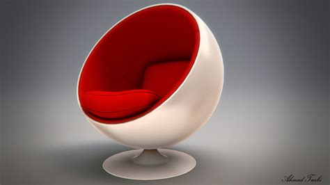 How To Make Egg Chair by Egg Chair Render V02 By Ahmadturk On Deviantart