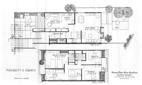 modern homes floor plans modern house plans for sale awesome mid century modern