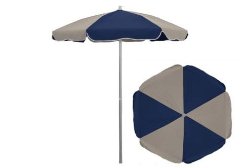 Custom Patio Umbrellas Custom 6 5 Ft Aluminum Sunbrella Patio Umbrella With Steel Ribs