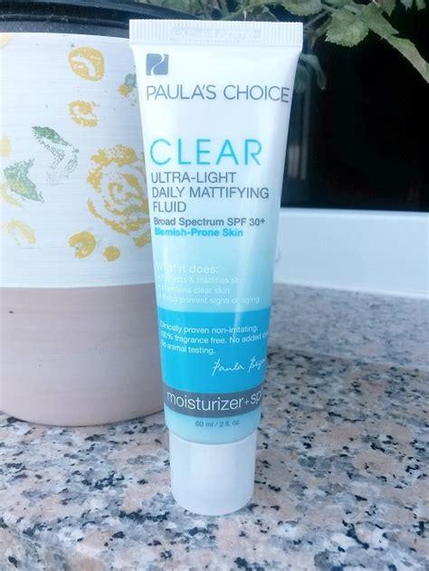 paula s choice clear ultra light daily fluid spf 30 makeup and other paula s choice clear ultra light daily