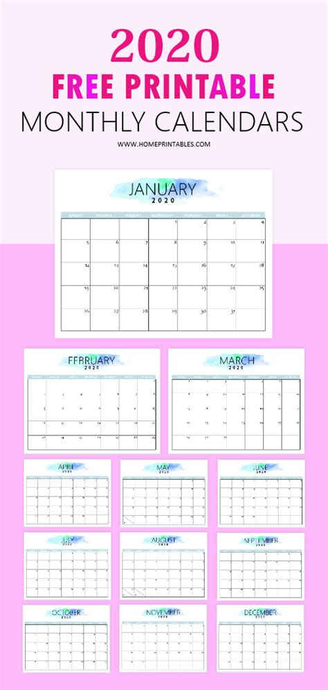 calendar printable simple   pretty monthly calender  printable