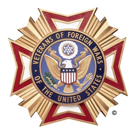Official Vfw Letterhead Logosociety Veterans Of Foreign Wars Of The United States Department Logo
