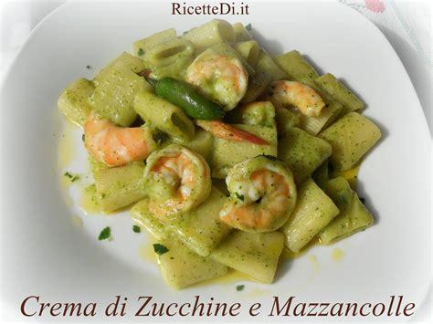 cucinare lumache surgelate pasta zucchine e mazzancolle ricettedi it