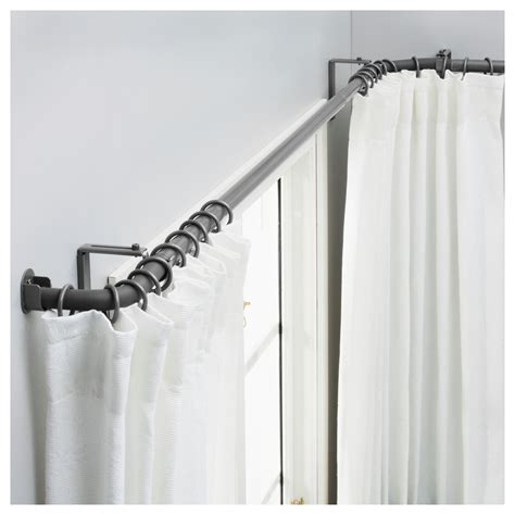 double curtain rod ikea bay window design spotlats