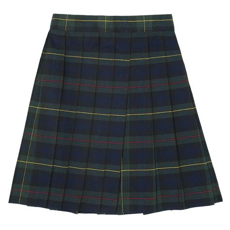 at school by toast 7 20 green plaid pleated