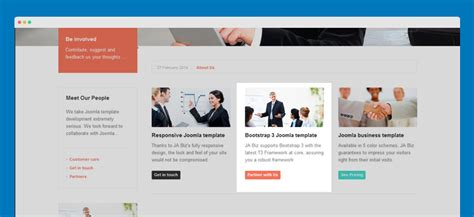 templates bootstrap joomla 3 ja biz template documentation joomla templates and