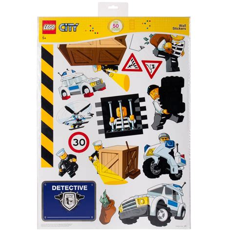 lego wall stickers lego city wall stickers official new 50
