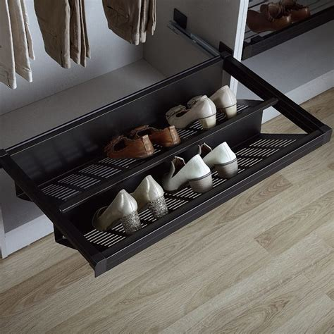 sliding shoe storage kamo sliding shoe rack richelieu hardware