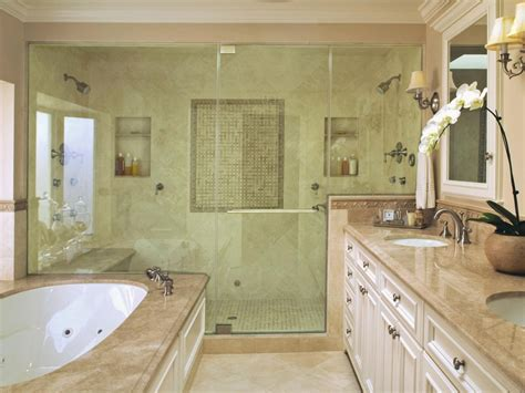 bathroom designs with shower and tub luxurious showers bathroom ideas designs hgtv