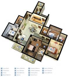 4 Bedroom Layout House 4 Bedroom Apartment House Plans