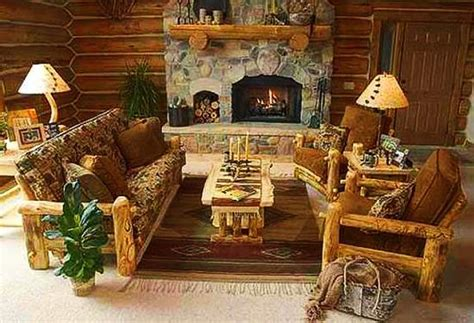 log furniture and decor accessories bringing unique