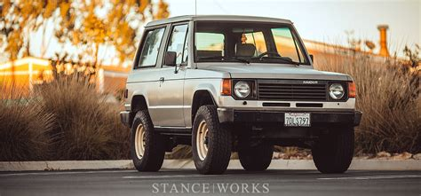 old mitsubishi montero stance works low is a lifestyle