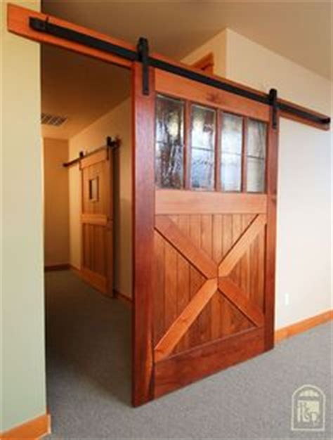 Ceiling Mounted Barn Door Same Opening Type As Ours Wall Barn Door Ceiling Mount