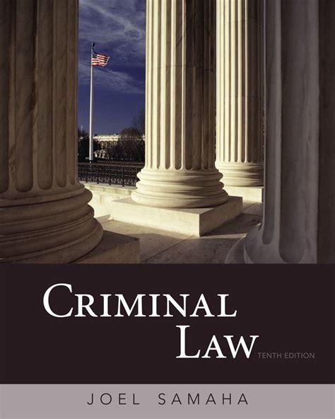 criminal law cheapest copy of criminal law by joel samaha 0495807494