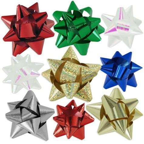 how to best store christmas bows 72pc designer gift bow assortment metallic iridescent holographic