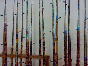 Gagang Joran Kayu aplikasi terbaru dari bambu bambu indonesia