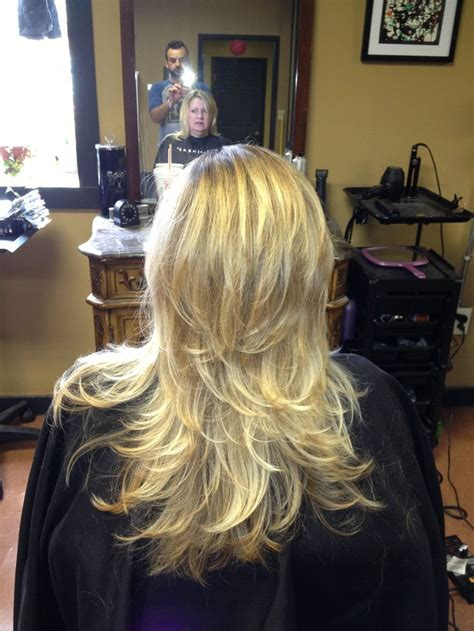 long hair with short layers on crown crown layers haircut short hairstyle 2013