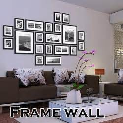 home interiors picture frames 20pcs black picture photo frames wall set home office wall