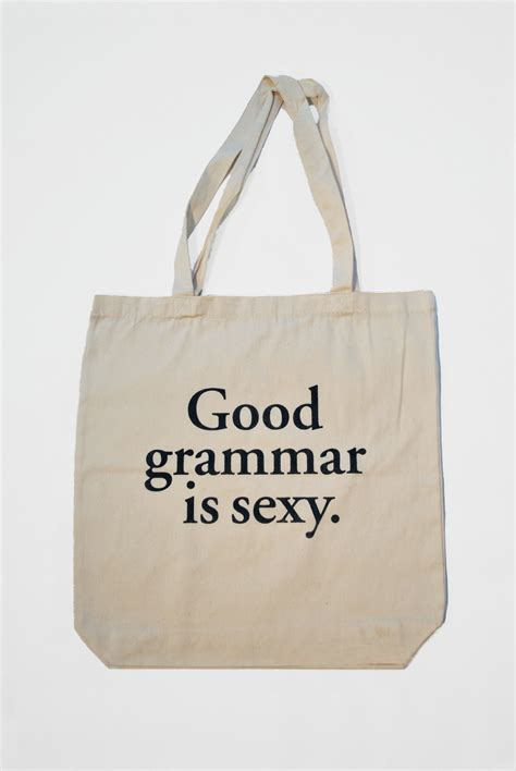 Tote Bage grammar is tote bag studio nico shop