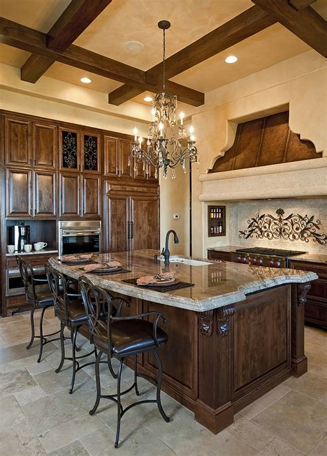 Mediterranean Kitchen Cabinets | how to design an inviting mediterranean kitchen
