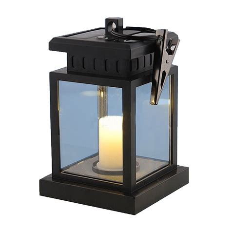 Outdoor Solar Candle Lights Outdoor Led Solar Garden Light Candle Ls Umbrella Tree Lantern Waterproof Lights For Garden