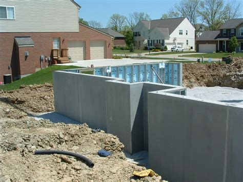 precast basement walls how to build a custom home part 16 traditional poured