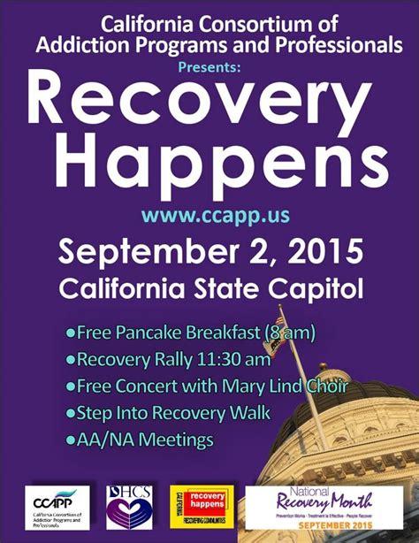 Free Detox Programs In Sacramento Ca by Ccapp Weekly Dispatch