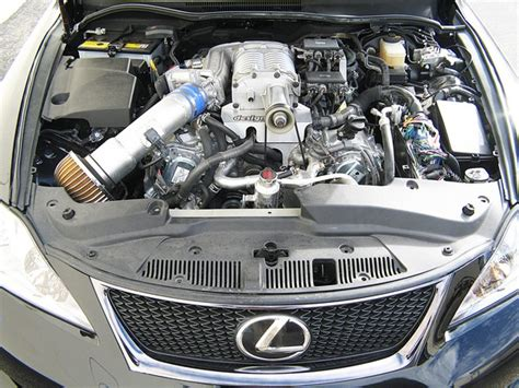 lexus isf engine supercharged lexus isf tein usa blog