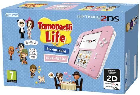 console significato consola nintendo 2ds rosa juego tomodachi