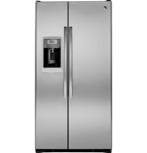 Ge Profile Refrigerator Cabinet Depth by Ge Profile Series 24 6 Cu Ft Counter Depth Side By Side