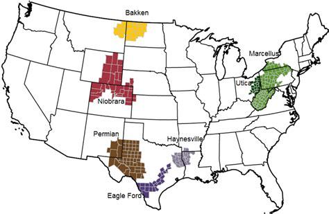 united states shale map the state of outside of the united states