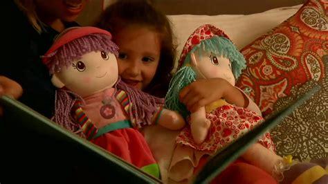 Set Lolipop Kid set of two lollipop 20 quot soft bodied rag dolls on qvc