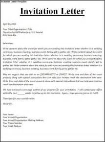 Business Letter Visa Template invitation letter for business visa sample usa sample job regarding