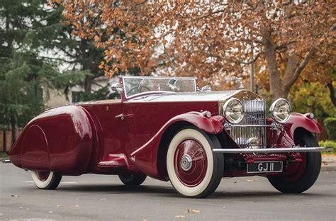 rolls royce sports car 1930 rolls royce phantom ii torpedo sports by barker