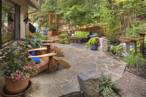 Rustic Backyard by Rustic Landscaping Dos Don Ts Landscaping Network